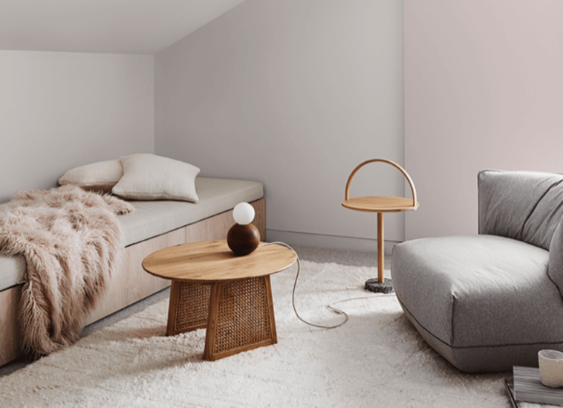 natural interior colour tones