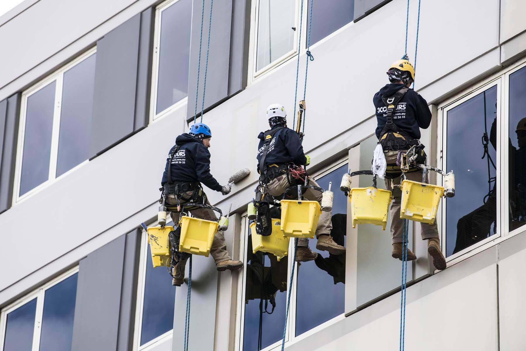 st-vincents-hospital-repainting-rope-access
