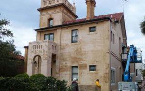 Before image of Heritage Restoration Works Summer Hill