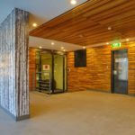 office-lobby-interior-timber finish
