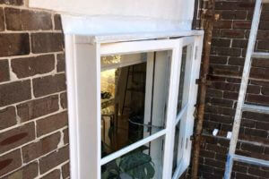 rotten-window-after remedial work