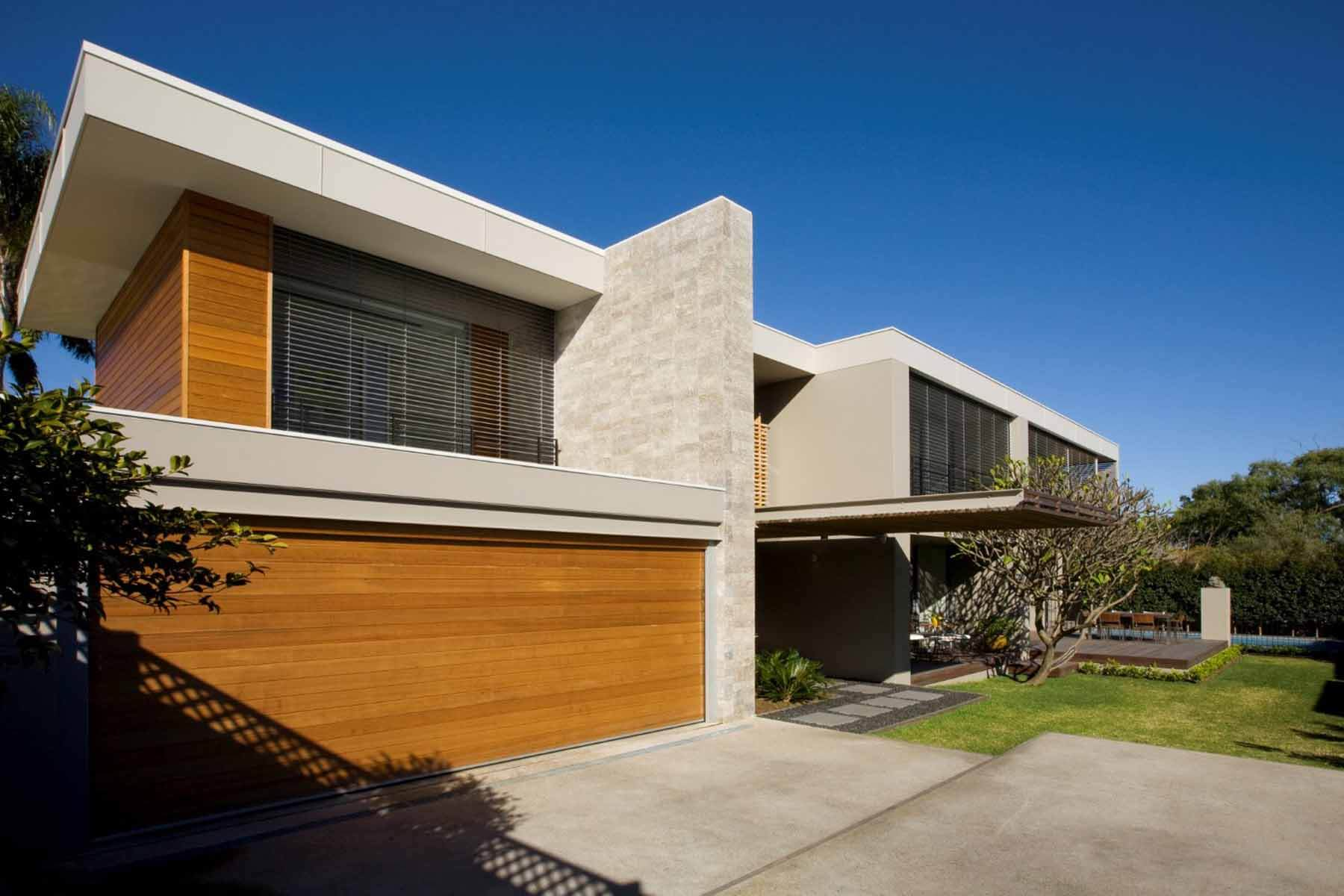 Timber Concrete House Mosman