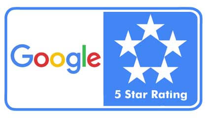 Google 5 Star Rating