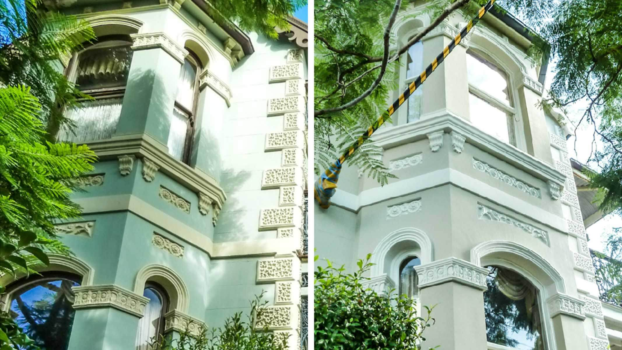 Before After Heritage Restoration