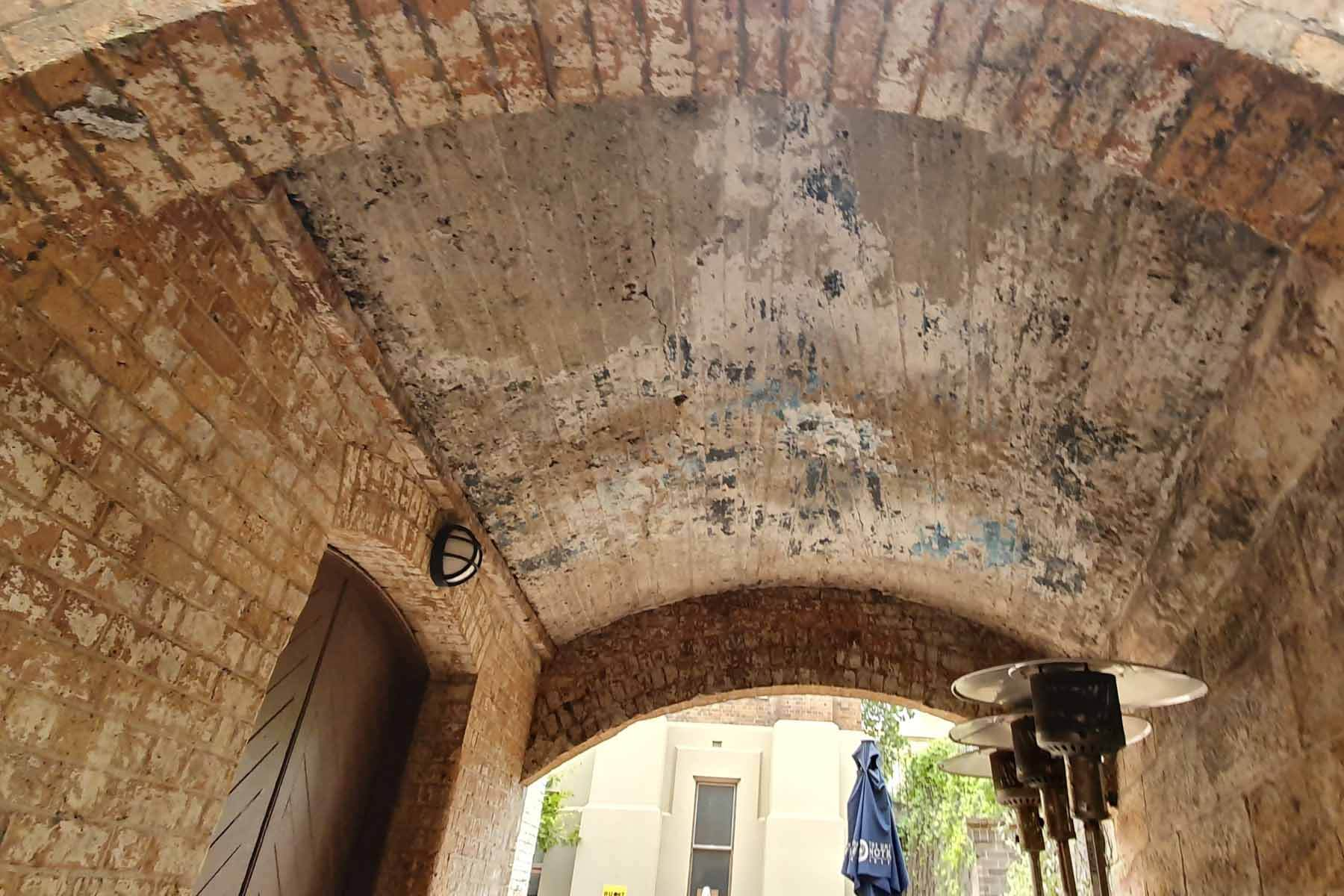 Lead Paint Removal Heritage archway Sydney