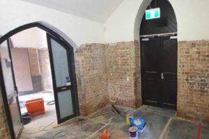 Lead Paint Removal Sydney University