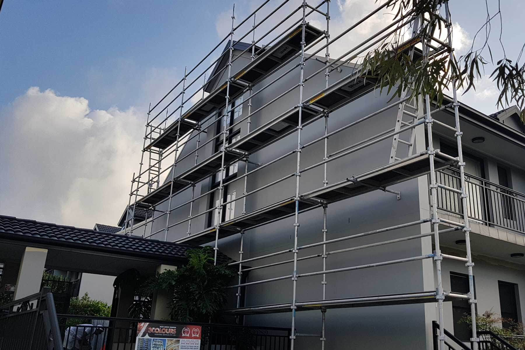 Ascot Gardens Strata Complex Repaint