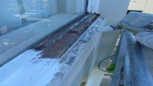 Repair timber windows