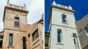 Summer Hill Heritage Restoration before and after