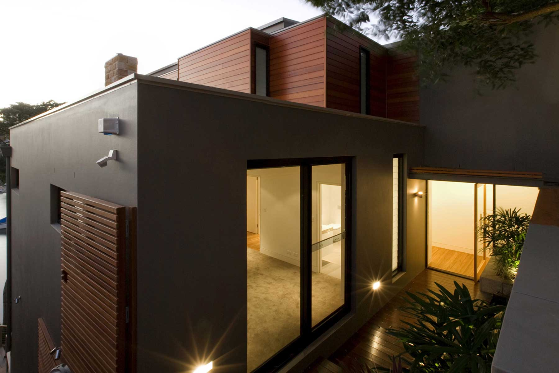 Mosman house exterior paint