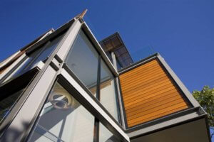 mosman house exterior paint timber work
